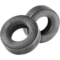 Carson Modellsport 1:14 LKW, LKW-Auflieger Reifen 27mm Straßenprofil 1 Paar