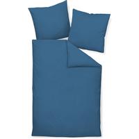 JANINE Colors 31001 jeansblau 200 x 220 cm + 2 x 80 x 80 cm
