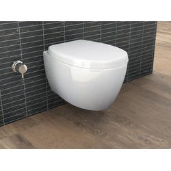 Aqua Bagno Tiefspül-WC Aqua Bagno Taharet WC inkl. Softclose WC-Sitz