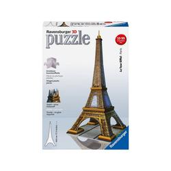 Ravensburger 3D-Puzzle 3D-Puzzle, H44 cm, 216 Teile. Eiffelturm, Puzzleteile