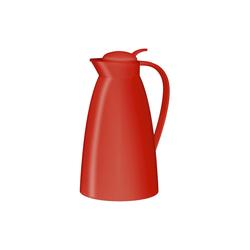 Alfi Isolierkanne Eco in rot, 1,0 l