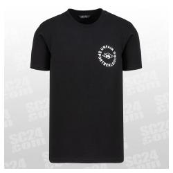 Sportbekleidung T-Shirt schwarz weiss