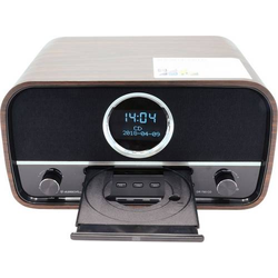 Albrecht DR 790 CD-Radio DAB+, UKW AUX, Bluetooth®, CD Braun