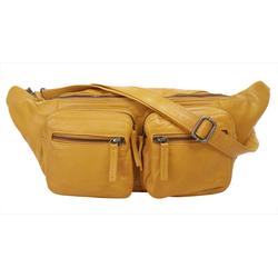 WouWou Gürteltasche gelb Damen Handtaschen Taschen
