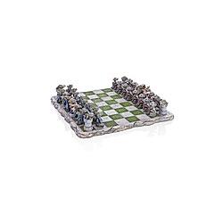 Schachbrett mit Drachenfiguren  33 Teile