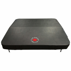 Canadian Spa Deluxe Whirlpoolabdeckung grau 228 x 228 cm