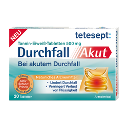 TETESEPT DURCHFALL AKUT