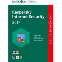 Kaspersky Lab Internet Security Multi-Device 2017 5 Geräte 2 Jahre ESD ML Win Mac Android iOS