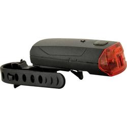 Fischer Fahrrad Fahrrad-Rücklicht 85364 LED batteriebetrieben Schwarz