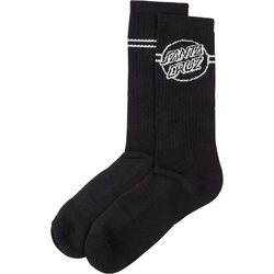 Socken SANTA CRUZ - Opus Dot Stripe Sock Black/Grey (BLACK-GREY)