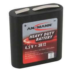 ANSMANN® 1x 3R12 Zink-Kohle Batterie 4,5V – Faltbatterie (1 Stück) Batterie