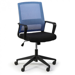 Bürostuhl low, blau