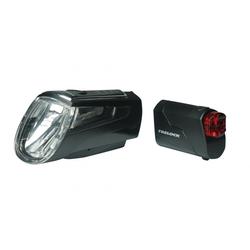 Trelock Fahrradbeleuchtung Trelock Beleuchtungsset LS 560 / LS 720