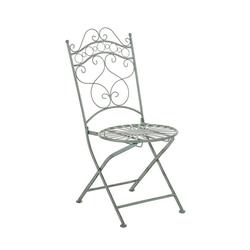 CLP Gartenstuhl Indra, handgefertigter Gartenstuhl aus Eisen grün