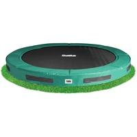 244 cm schwarz/grün