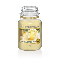 YANKEE CANDLE Große Kerze HOMEMADE HERB LEMONADE 623 g Duftkerze