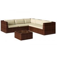 Baidani Surprise Select Lounge-Set braun meliert/creme