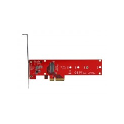 StarTech.com x4 PCI Express zu M.2 PCIe SSD Adapter NGFF NVMe oder AHCI Schnittstellenadapter Expansion Slot to Card Rot (PEX4M2E1)
