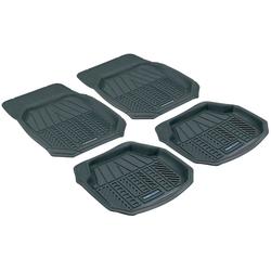 WALSER Autogummimatte Premium, 4-tlg. schwarz