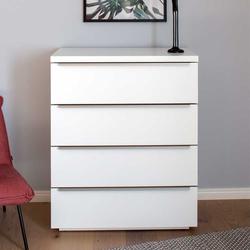 Schubladenkommode in Weiß 80 cm breit