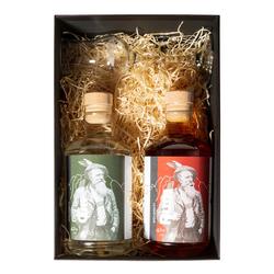 Dolomiti Geschenkset Gin & Rum + 1 Glas