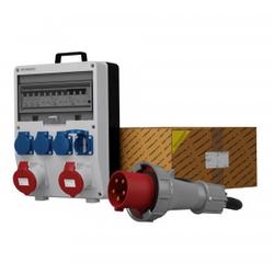 Baustromverteiler TD-S/FI 2x32A 4x230 SKH Kabel 5x10mm2 Doktorvolt® 0021