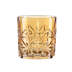 Nachtmann Tumbler-Glas Highland Amber 345 ml, Kristallglas weiß