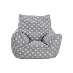Kindersitzsack Dots, grau