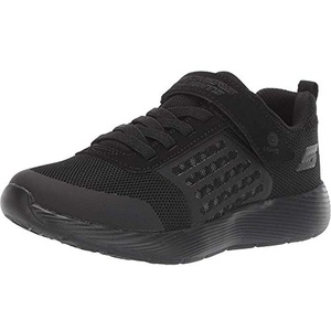 Skechers Boys' Dyna-lights Sneakers, Black (Black Mesh/Black Trim Bbk), 1.5 UK (34 EU)