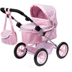 Bayer Puppenwagen Puppenwagen Trendy, blau rosa