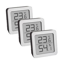 TFA Thermo-Hygrometer 3er Pack