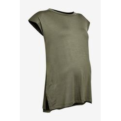 Next Trägertop T-Shirt mit Schulterpolster gr�n 40