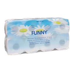 Plock Toilettenpapier Funny 3 lagig 8 Rollen