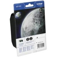 Brother LC-1000BK schwarz 2er Pack