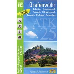 Grafenwöhr 1 : 25 000