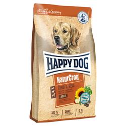 (2,85 EUR/kg) Happy Dog NaturCroq Rind & Reis 4 kg