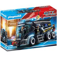 Playmobil City Action SEK-Truck mit Licht und Sound 9360