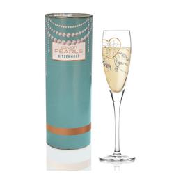 Ritzenhoff Sektglas Pearls Edition Prosecco R. Rosenkranz Herz, Kristallglas