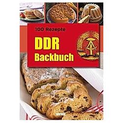 DDR Backbuch - Buch