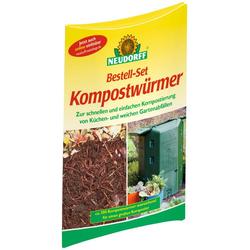 Neudorff Kompostwürmer, (1-St), ca. 500 Würmer
