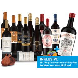 Großes Spanien-Rotwein-Probierpaket inkl. 'Besten Rotwein Spaniens'
