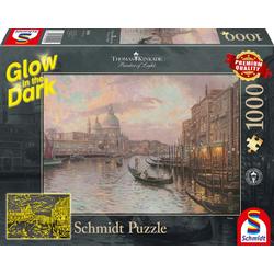 Schmidt Spiele - Puzzle - In den Straßen von Venedig 1000 Teile