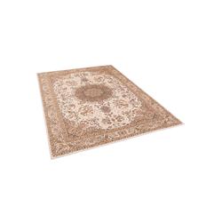 Designteppich Luxus Orient Teppich Primus Keshan, Pergamon, Rechteckig, Höhe 7 mm 160 cm x 230 cm x 7 mm