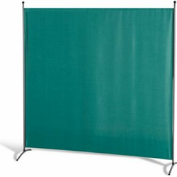 Grasekamp Stellwand 180 x 180 cm - Grün - Paravent  Raumteiler Trennwand Sichtschutz