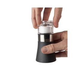 PEUGEOT Salz- / Pfefferstreuer 2in1 Kombi Pfeffermühle mit Salzstreuer OSLO, Kombi aus Pfeffermühle und integriertem Salzstreuer