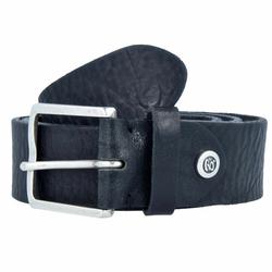 b.belt Gürtel Leder schwarz 95 cm