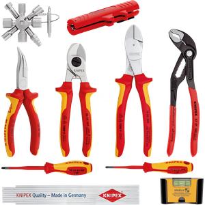 KN 00 20 90 V01 - Werkzeugsatz, Knipex Erweiterungsset Elektro 1, 10-teilig