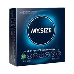 """Kondome """"47 mm"""" mit wenig Eigengeruch"""