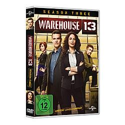 Warehouse 13 - Season 3 - DVD  Filme