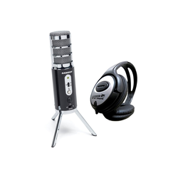 Samson Mikrofon Samson Satellite USB-Mikrofon + Stereo-Kopfhörer